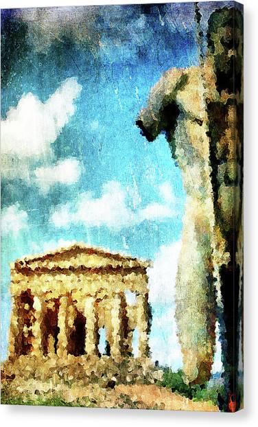 Akragas Canvas Print