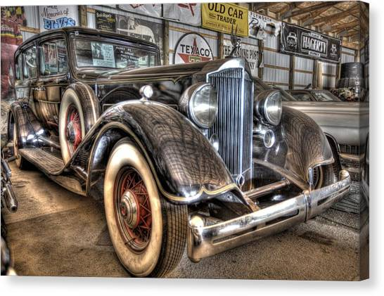 New York Red Bulls Canvas Print - Al Capone's Packard by Nicholas  Grunas