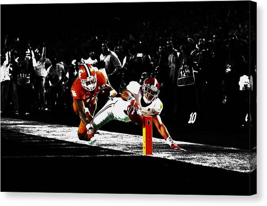 Miami University - Oxford Miami Of Ohio Canvas Print - Alabama Scores by Brian Reaves
