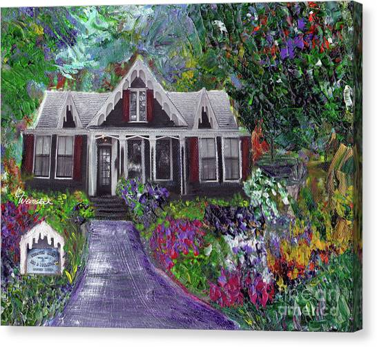 Alameda 1854 Gothic Revival - The Webster House Canvas Print