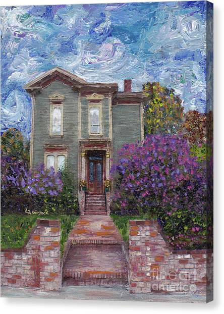 Alameda 1888 - Italianate Canvas Print