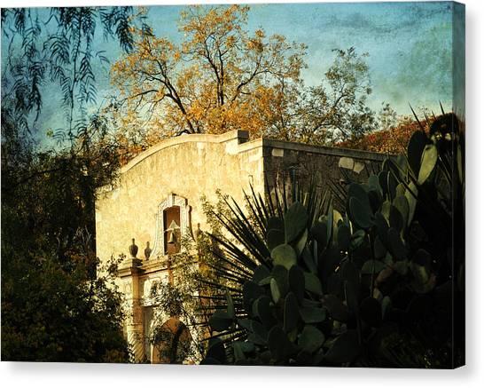 Alamo Mission Canvas Print by Iris Greenwell