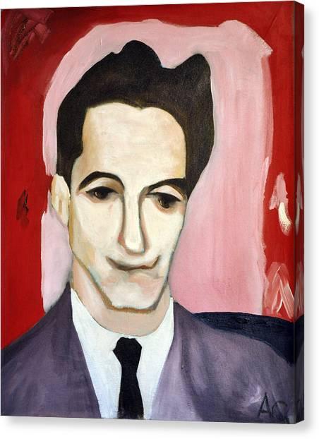 New York University Canvas Print - Alan Greenspan As A Young Man by Jonathan Peter Jackson