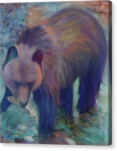 Alaska Bear  Canvas Print