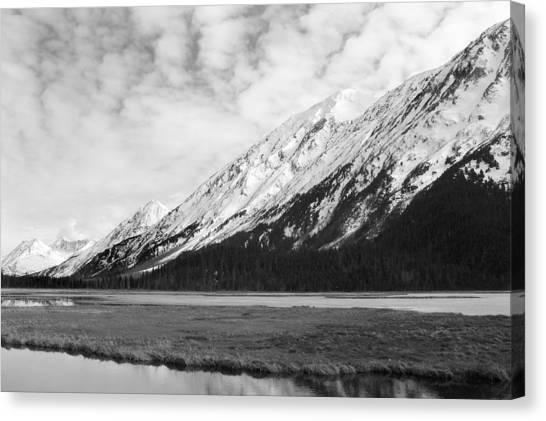 Alaska Mountains Canvas Print by Ty Nichols
