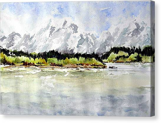 Alaska Solitude Canvas Print