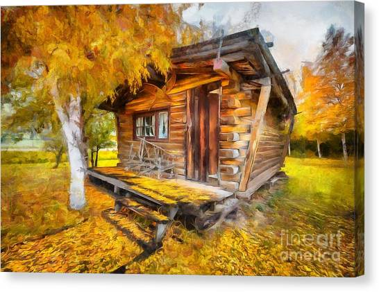 Alaskan Autumn Canvas Print