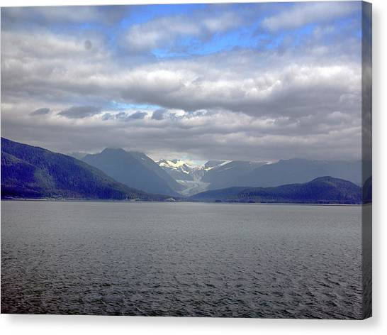Alaskan Coast 2 Canvas Print