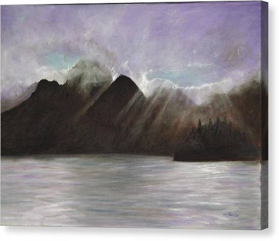 Alaskan Morning Canvas Print by Merle Blair