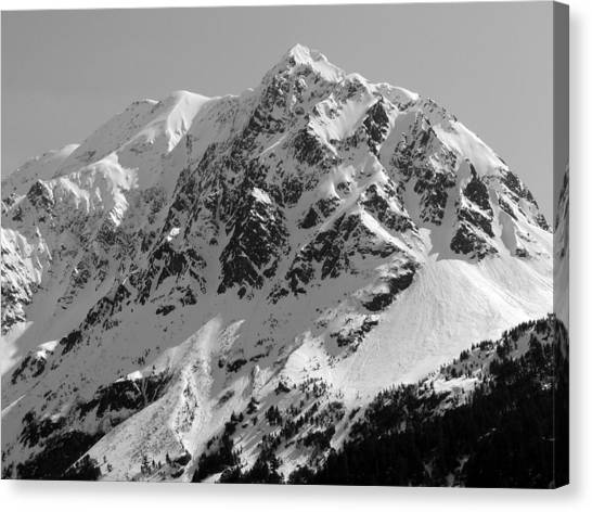 Alaskan Peak Canvas Print by Ty Nichols