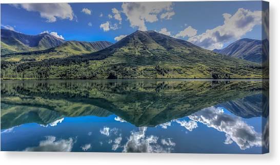 Alaskan Reflections Canvas Print