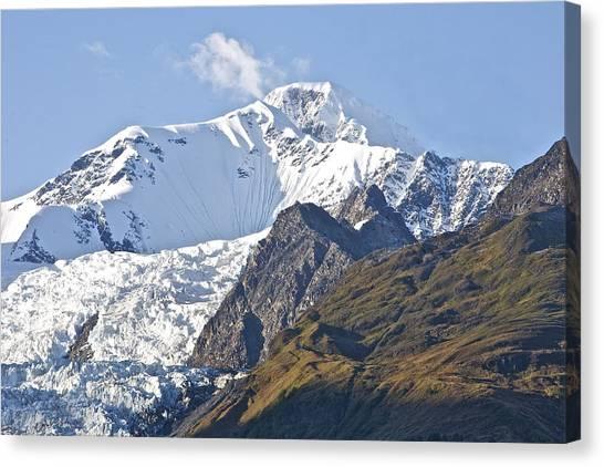 Alaskan Snowtop Canvas Print by Robert Joseph
