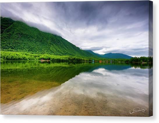 Alaska's Mirror Lake Canvas Print