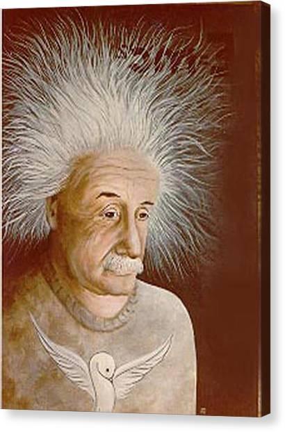 Albert E. Canvas Print