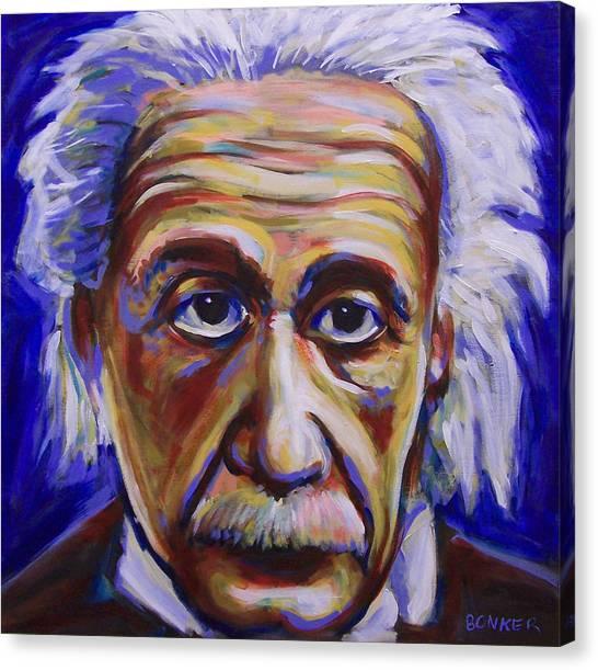 Albert Einstein Painting By Buffalo Bonker