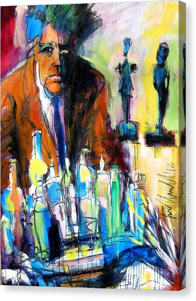 Alberto Canvas Print