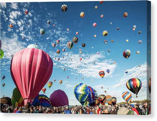Albuquerque Balloon Fiesta Canvas Print