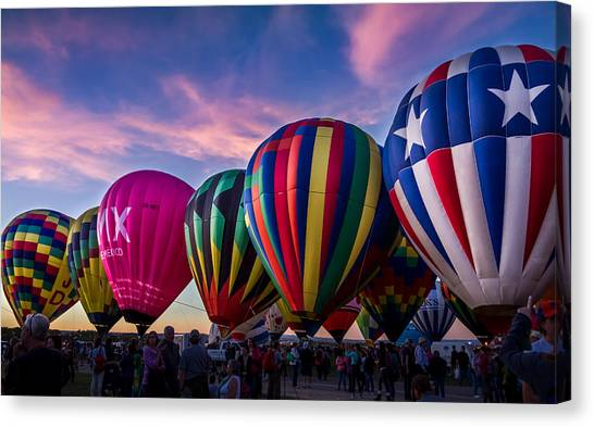 Albuquerque Hot Air Balloon Fiesta Canvas Print
