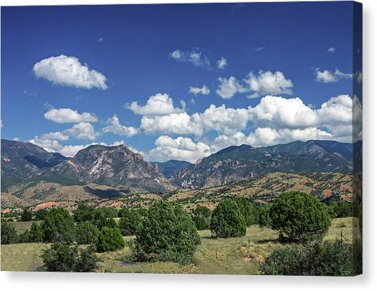 Aldo Leopold Wilderness, New Mexico Canvas Print