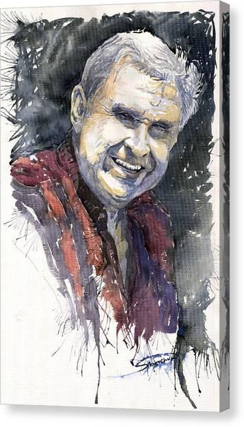 People Canvas Print - Alex by Yuriy Shevchuk