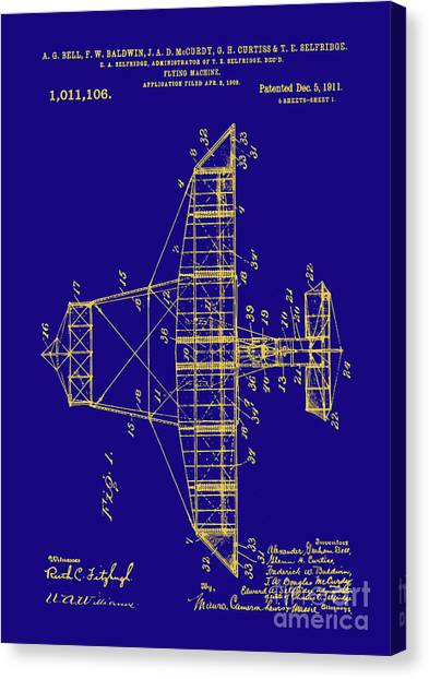 Airplane blueprint canvas prints page 19 of 19 fine art america airplane blueprint canvas print alexander graham bell plane patent print airplane patent art by malvernweather Images