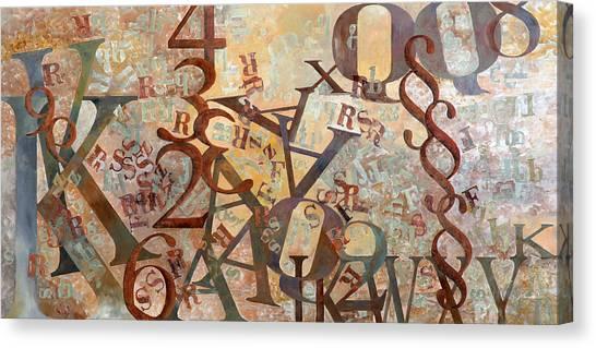 Deltas Canvas Print - Alfa Alfa by Guido Borelli