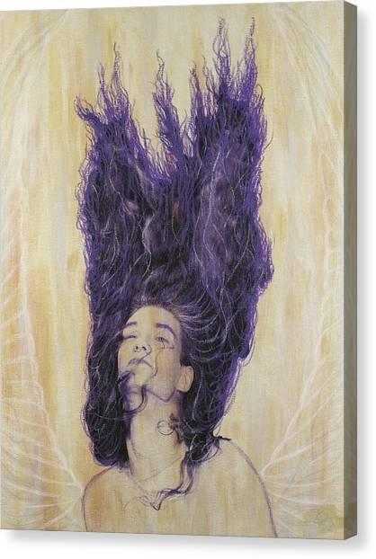 Algiz Canvas Print by Arnuda