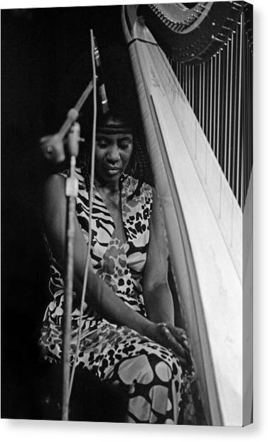 Alice Coltrane Canvas Print