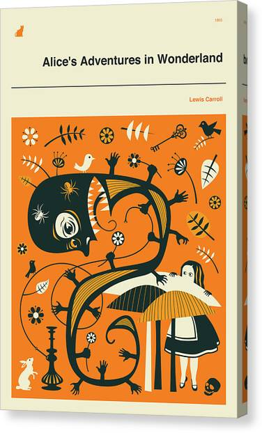 In Canvas Print - Alice In Wonderland 1 by Jazzberry Blue