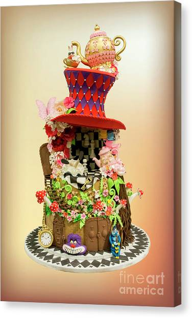 Alice In Wonderland #1 Canvas Print