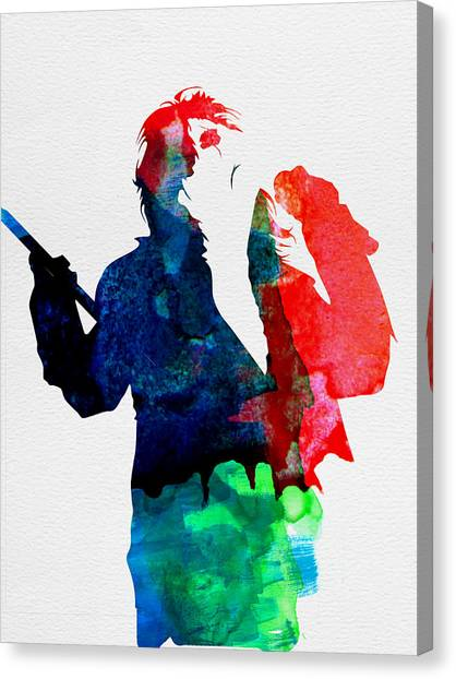 Alice Cooper Canvas Print - Alice Watercolor by Naxart Studio