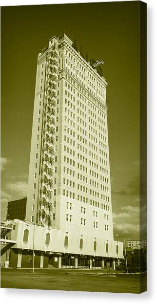 Dr. Pepper Canvas Print - Alico Building #6 by Stephen Stookey