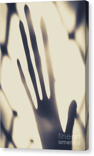 Abduction Canvas Print - Alien Contact by Jorgo Photography - Wall Art Gallery