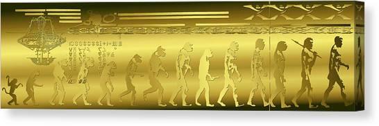 Alien Evolution Canvas Print
