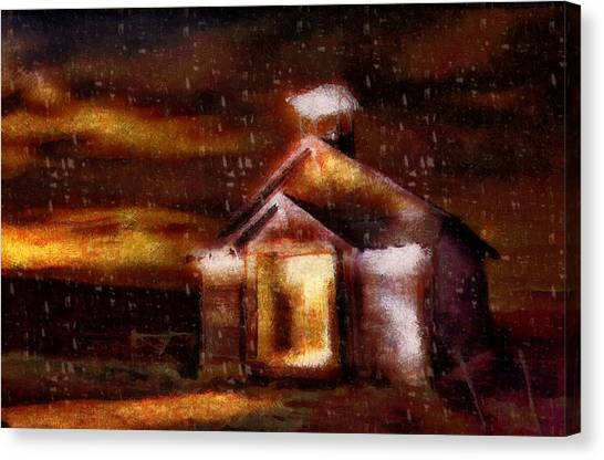 Alien Home Canvas Print