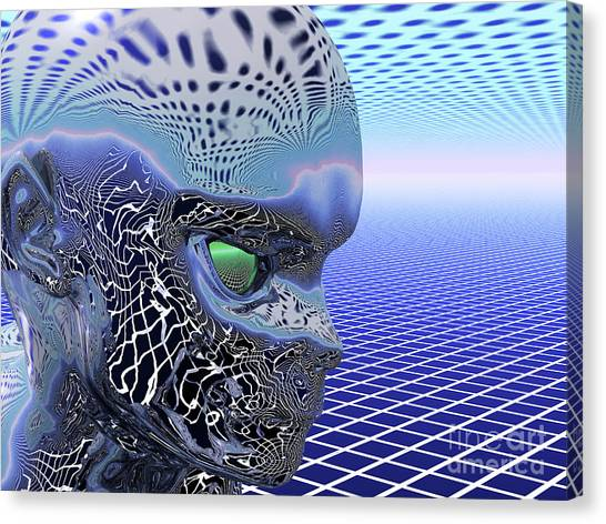 Alien Stare Canvas Print