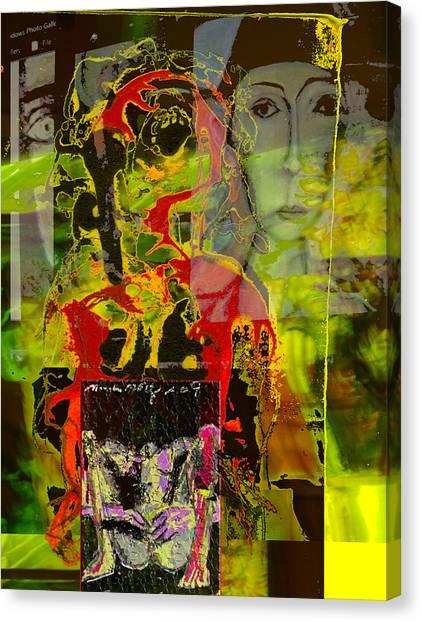 Alienation Canvas Print by Noredin Morgan