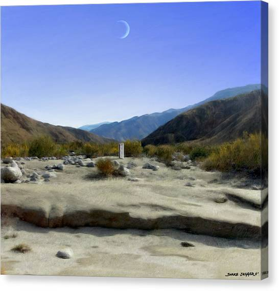 Southwest Canvas Print - Alignment by Snake Jagger