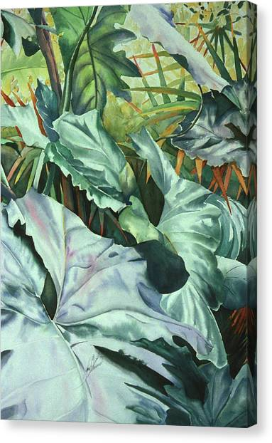 All Ears Canvas Print by Leah Wiedemer