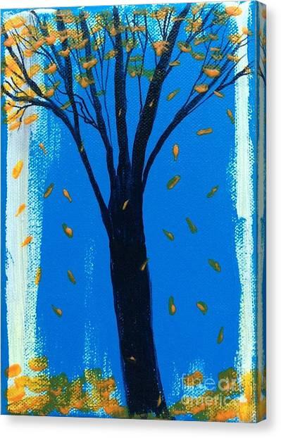 All Fall Down Canvas Print