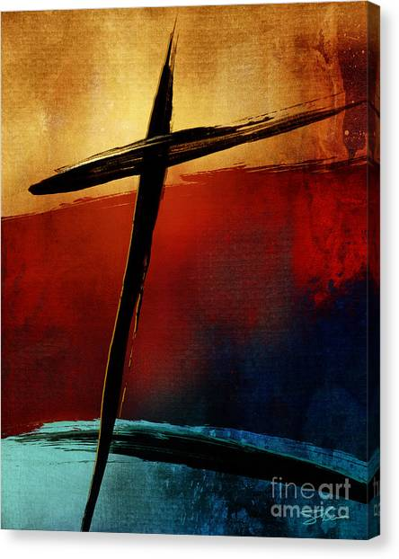 Messiah Canvas Print - All For You by Shevon Johnson