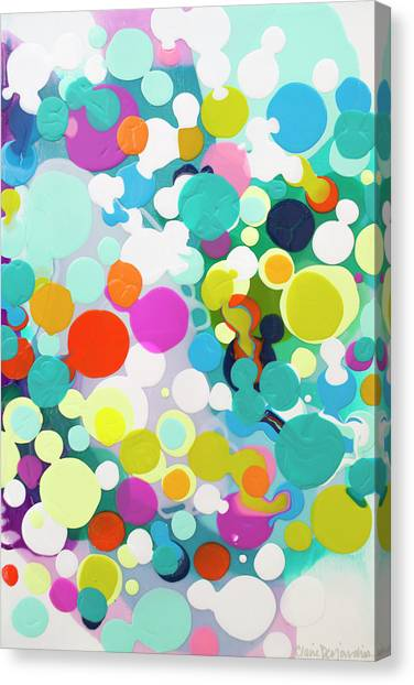 Canvas Print - All In The Timing by Claire Desjardins