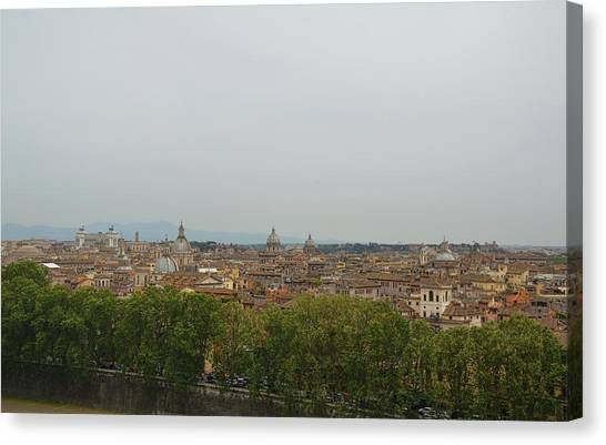 View All Of Rome Canvas Print by JAMART Photography