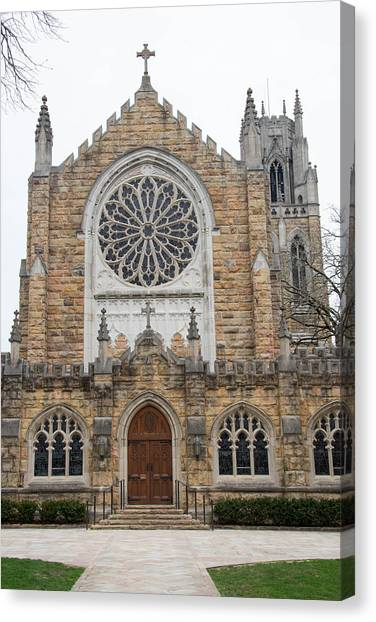 The University Of Tennessee Canvas Print - All Saints Chapel by John Suter
