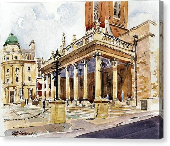 All Saints Church Northampton Canvas Print