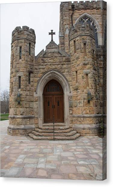 The University Of Tennessee Canvas Print - All Saints Side by John Suter