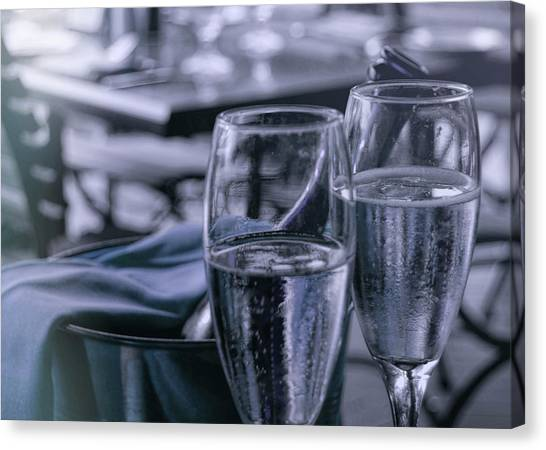 All Sparkling Blue Canvas Print by JAMART Photography