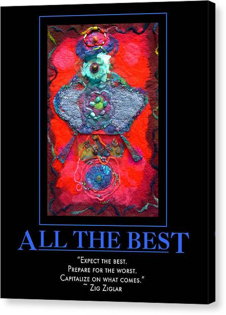 All The Best Canvas Print