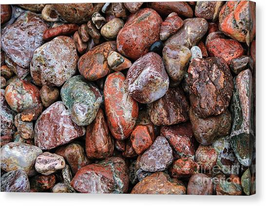 All The Stones Canvas Print