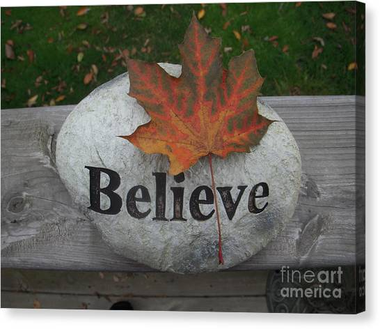 All Things Are Posssible Canvas Print by Deborah Finley